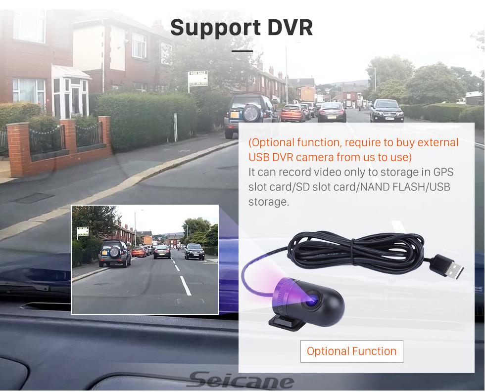 Seicane 10.25 дюймов HD Сенсорный экран Android 8.1 2011 2012 BMW 5 Series F10 / F11 Автомобильный стереогарнитурный автомагнитола CIC GPS-навигатор Bluetooth-телефон Поддержка MP3-рулевого управления WIFI