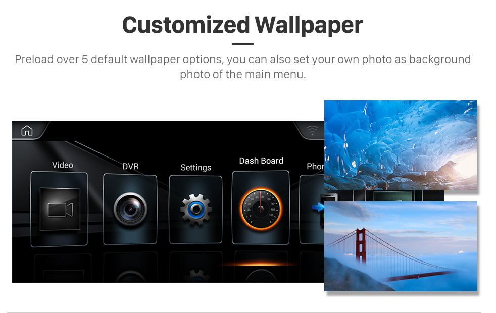 Seicane 10.25 Polegada Android 8.1 HD Touchscreen 2013-2016 BMW Série 4 F32 / F33 / F36 NBT Unidade de Cabeça de Rádio GPS Bluetooth Música Suporte WI-FI Retrovisor Câmera Controle de Volante USB OBD2