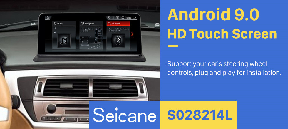 Seicane 10.25 inch Android 9.0 HD Touchscreen GPS Navigation System for BMW Z4 E85 original no monitor Radio Stereo USB Bluetooth support Mirror Link DVR