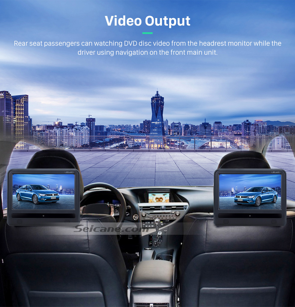 Video Output OEM 2004-2012 Toyota Harrier Bluetooth Music Radio DVD Player HD Touchscreen Car Stereo GPS Navigation System Steering Wheel Control 1080P