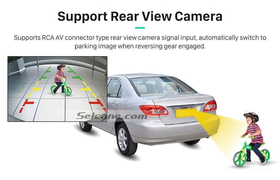 Support Rear View Camera OEM 2004-2012 Toyota Harrier Bluetooth Music Radio DVD Player HD Touchscreen Car Stereo GPS Navigation System Steering Wheel Control 1080P