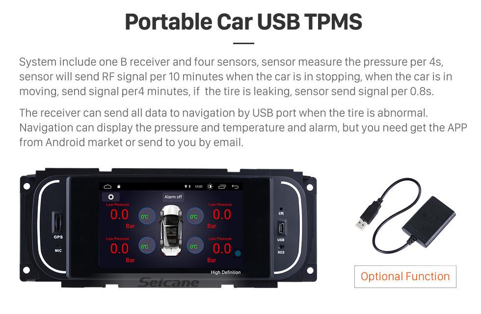 Seicane 2002-2006 Dodge Stratus Sedan Android 8.1 Radio GPS Sat Nav with OBD2 Bluetooth Mirror link DVR WIFI Steering Wheel Control Digital TV