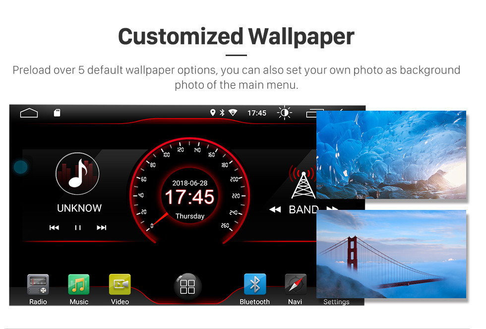 Seicane Android 8.1 Radio HD TouchScreen для 1999-2004 Jeep Grand Cherokee GPS поддержки системы навигации Bluetooth зеркало связь WIFI резервная камера управления рулевого колеса
