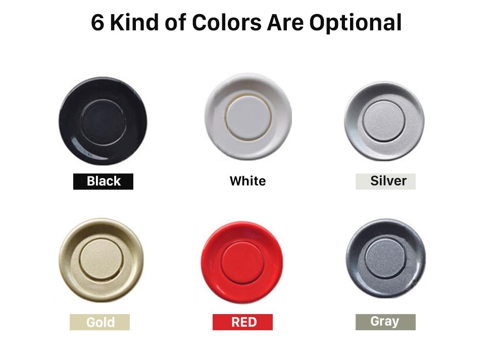 6 Kind of Colors Are Optional Auto Car Universal Parking Assistance System Reverse Sensor with 8 Parking Sensor Visual LED Monitor Reversing Radar