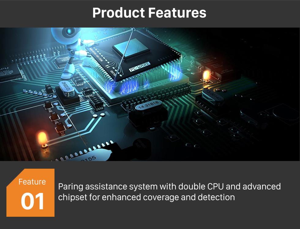 Product Features Auto Car Universal Parking Assistance System Reverse Sensor with 8 Parking Sensor Visual LED Monitor Reversing Radar