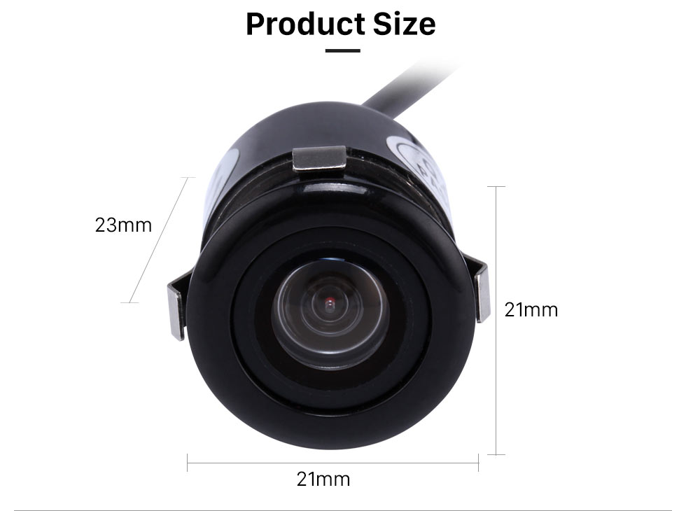 Seicane HD 170 Degree Wide Angle Large Lens View Video Waterproof Bckup Rearview Camera Reversing Parking Night Vision