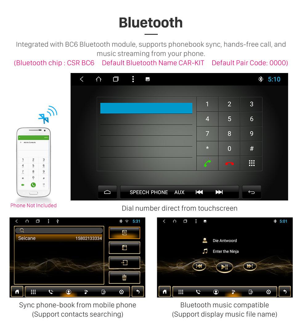 Seicane 8 polegada android 8.1 2018 subaru xv tela de toque hd rádio de navegação gps com suporte bluetooth wi-fi apoio obd2 câmera digital tv dvr espelho link