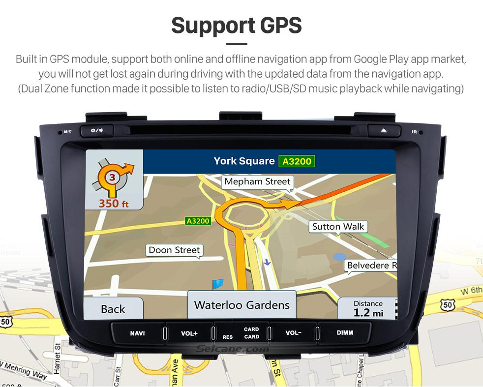 Android 8 0 Car Radio DVD Player Bluetooth GPS Sat