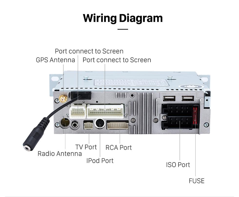 Seicane Aftermarket GPS Android 8.0 Radio DVD-Player Bluetooth Stereo für 2011 2012 2013 PEUGEOT 508 Unterstützung 3D Navigation USB SD 3G WIFI DVR Rückfahrkamera Auto A / V