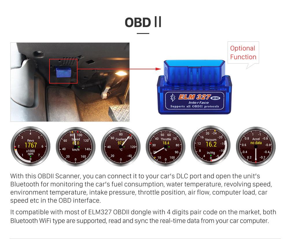 Seicane 8 Zoll 2012-2014 Kia Sorento Android 8.1 Radio DVD-Spieler Bluetooth GPS-Navigations-Haupteinheit Unterstützung DVR TPMS Unterstützungskamera 1080P Video