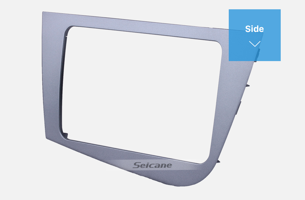 Seicane 2 Din Fascia for 2005-2011 Seat Leon left hand driving Car Radio Head Unit GPS Navigation plate panel Frame