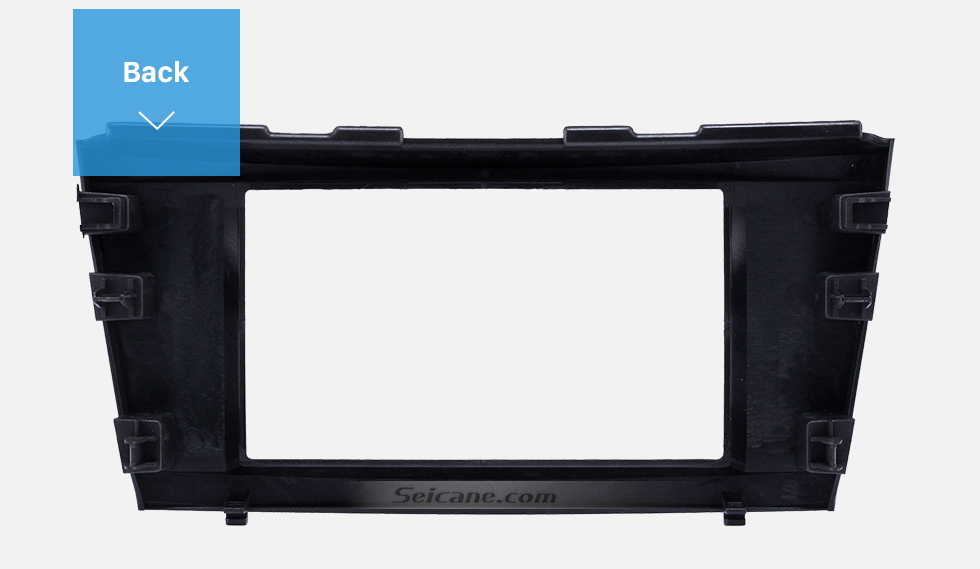 Seicane 173*98mm Double Din Car Radio Fascia for 2006-2011 Toyota Camry Audio Cover Frame Installation Kit Face Plate