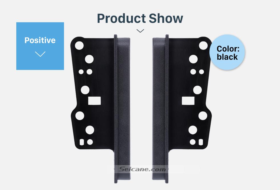 Seicane Easy-to-Install 10mm 2Din Toyota Ear Sides Car Radio Fascia Dash CD Trim Installation Kit Surrounded Frame Dashboard Panel