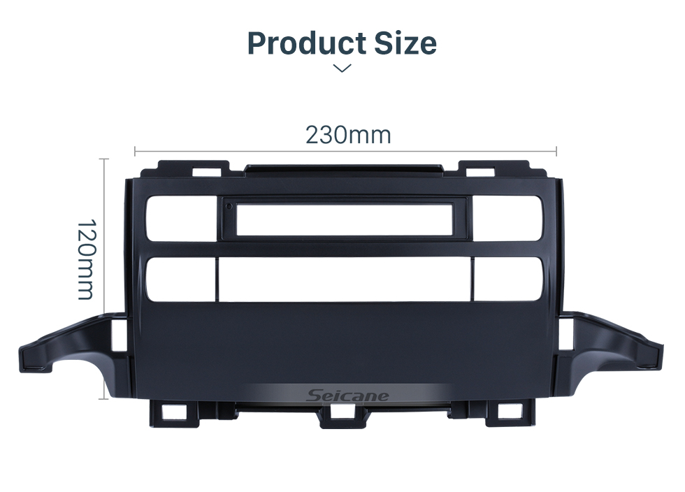 Seicane Great 2009 Toyota Prado J120 Car Radio Fascia Dash Kit Audio Player Car DVD Gps Decorative Frame