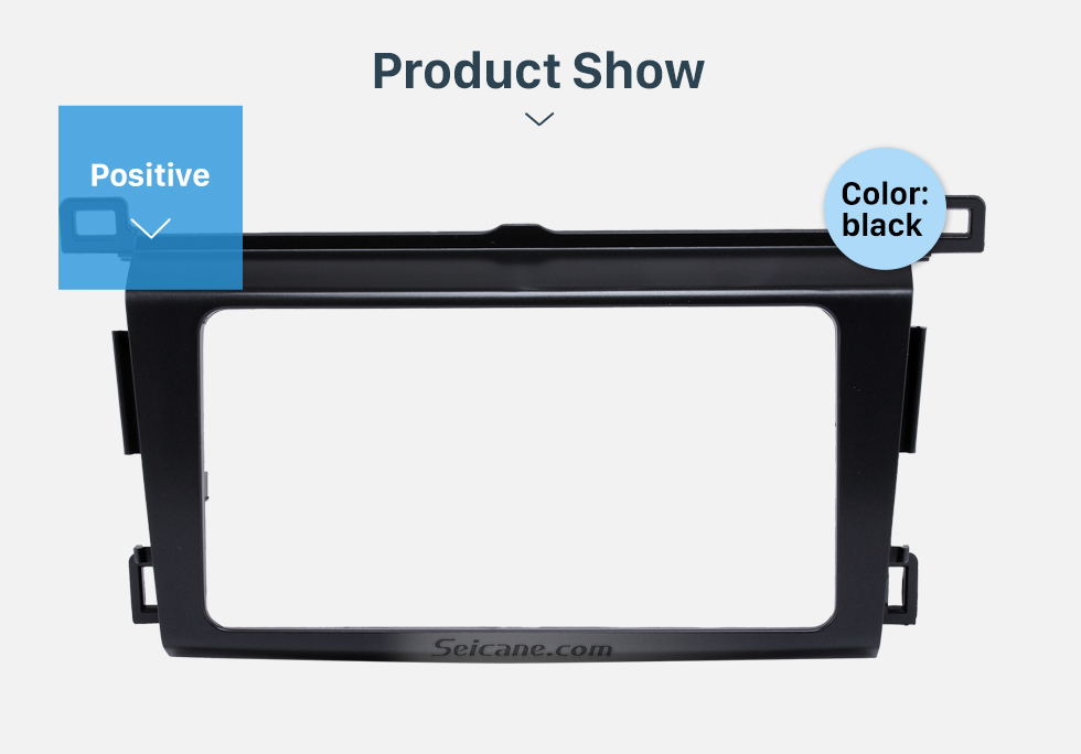 Product Show Classy 2Din 2013 TOYOTA RAV4 Car Radio Fascia Audio Fitting Adaptor Install Frame DVD Stereo Player