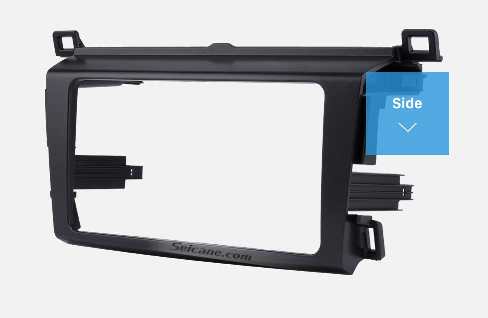 Side Classy 2Din 2013 TOYOTA RAV4 Car Radio Fascia Audio Fitting Adaptor Install Frame DVD Stereo Player