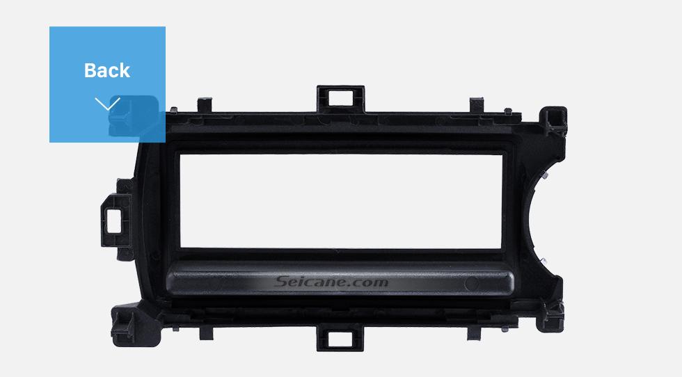 Back Perfect 1Din 2012 Toyota Yaris Vitz LHD Car Radio Fascia Audio Fitting Adaptor Dash Kit Face Plate Installation Frame