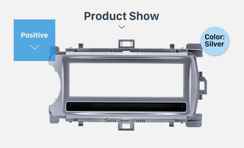Product Show Perfect 1Din 2012 Toyota Yaris Vitz LHD Car Radio Fascia Audio Fitting Adaptor Dash Kit Face Plate Installation Frame