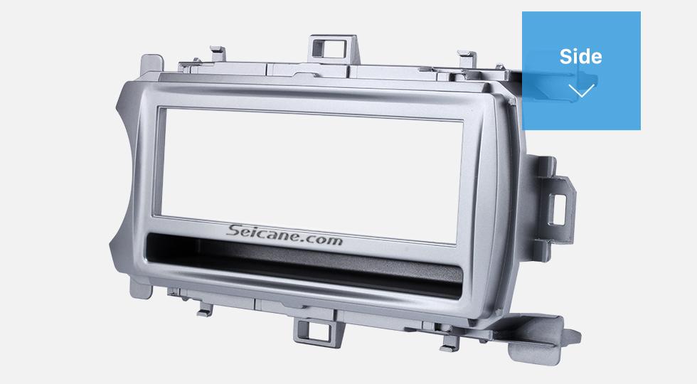 Side Perfect 1Din 2012 Toyota Yaris Vitz LHD Car Radio Fascia Audio Fitting Adaptor Dash Kit Face Plate Installation Frame