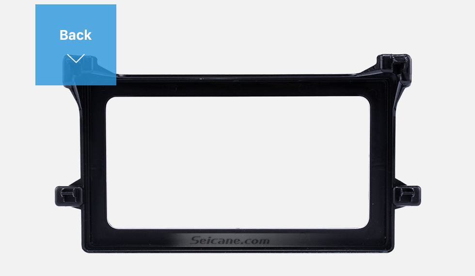 Seicane Hot Double Din 2016 Toyota Prius Car Radio Fascia Stereo Dash CD Panel Frame Audio Cover