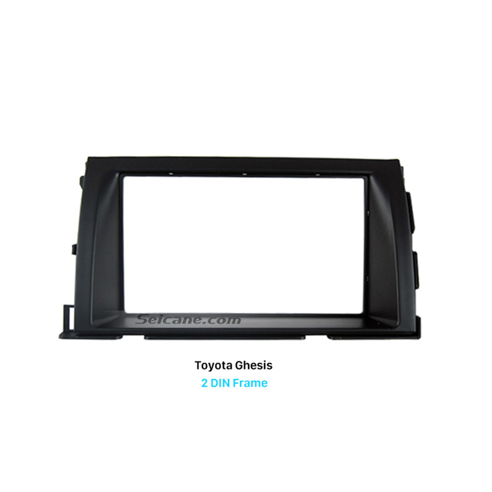 Seicane Good-looking Double Din Toyota Ghesis Car Radio Fascia Trim Installation Dash Kit Surround Panel