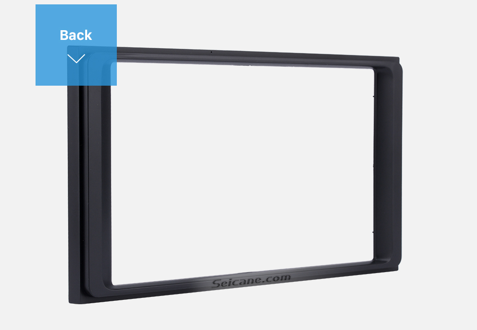 Seicane Latest Double Din 2016+ Toyota Tacoma Car Radio Fascia CD Trim Installation Frame Panel Stereo Player