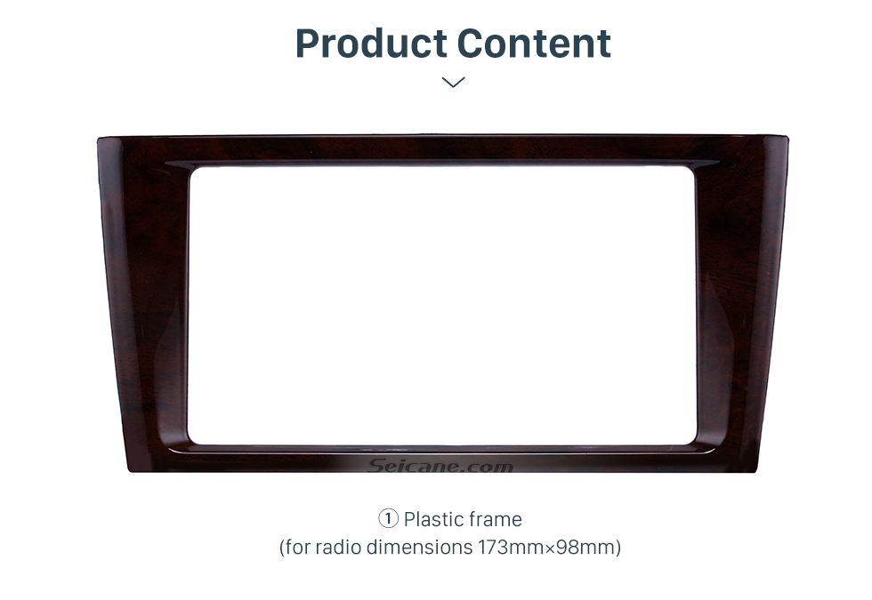 Product Content Classic Double Din 2000-2004 Toyota Avalon Car Radio Fascia Dash Mount Kit Face Plate Panel DVD Frame