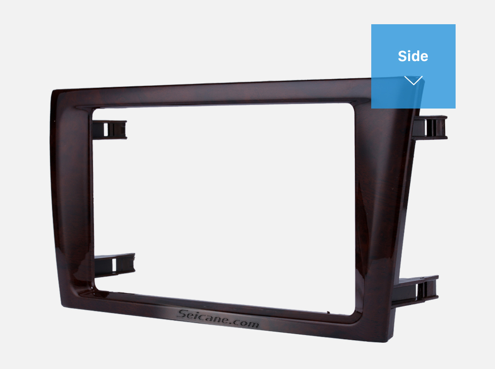 Side Classic Double Din 2000-2004 Toyota Avalon Car Radio Fascia Dash Mount Kit Face Plate Panel DVD Frame