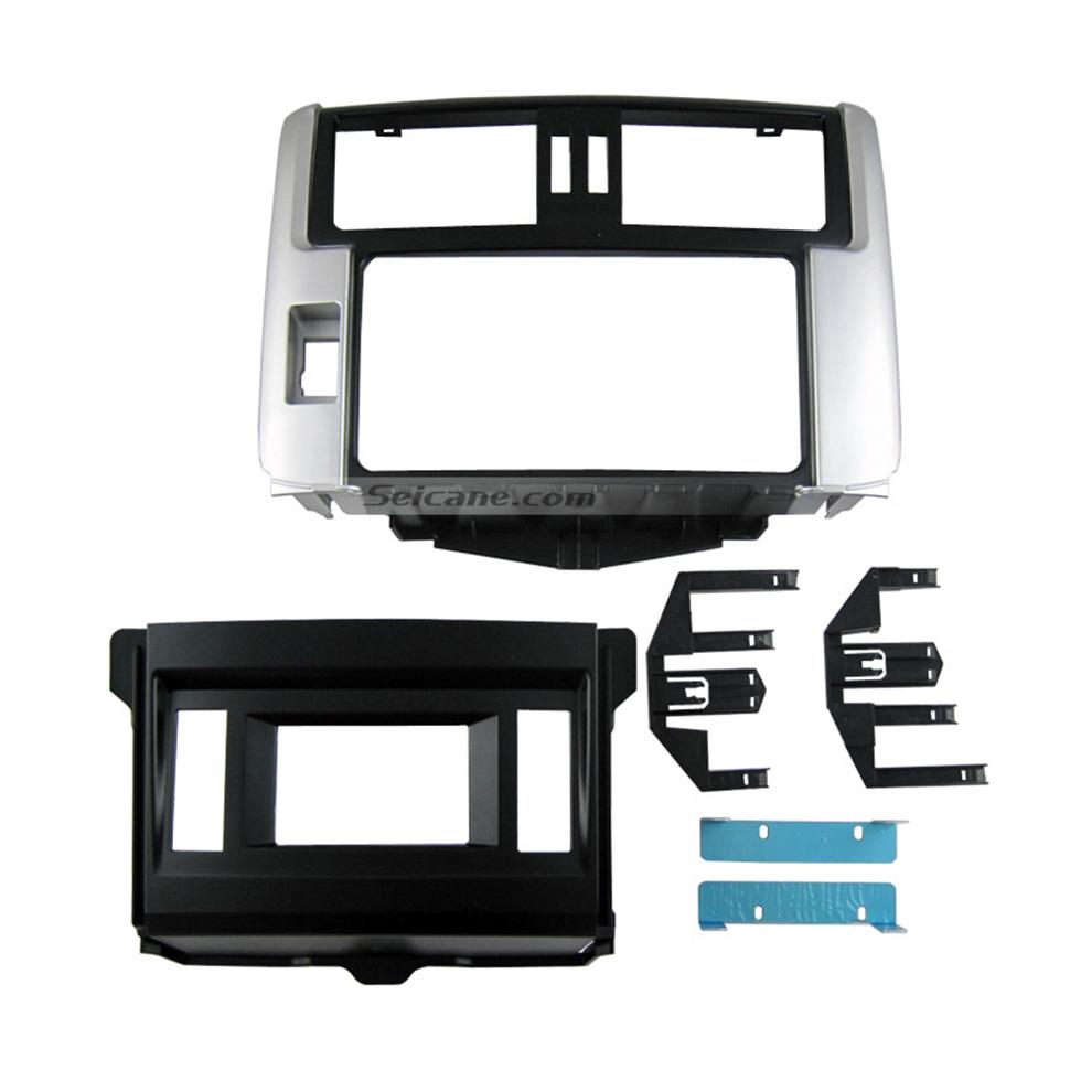 Seicane Best 2 Din 2010 Toyota Prado GX 150 LHD Car Radio Fascia Stereo Install Dash Mount Kit Frame Panel