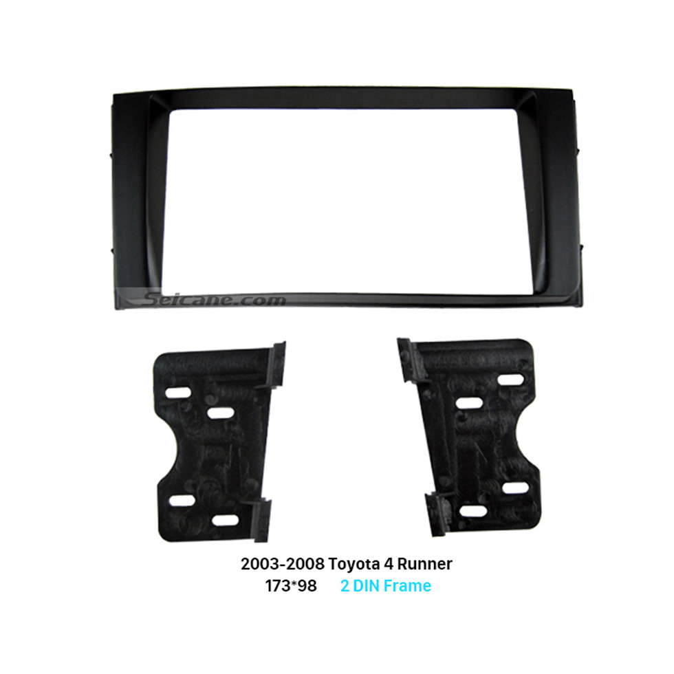 Seicane 173*98mm Double Din 2003-2008 Toyota 4 Runner Car Radio Fascia Dash Mount Kit DVD Panel Audio Player