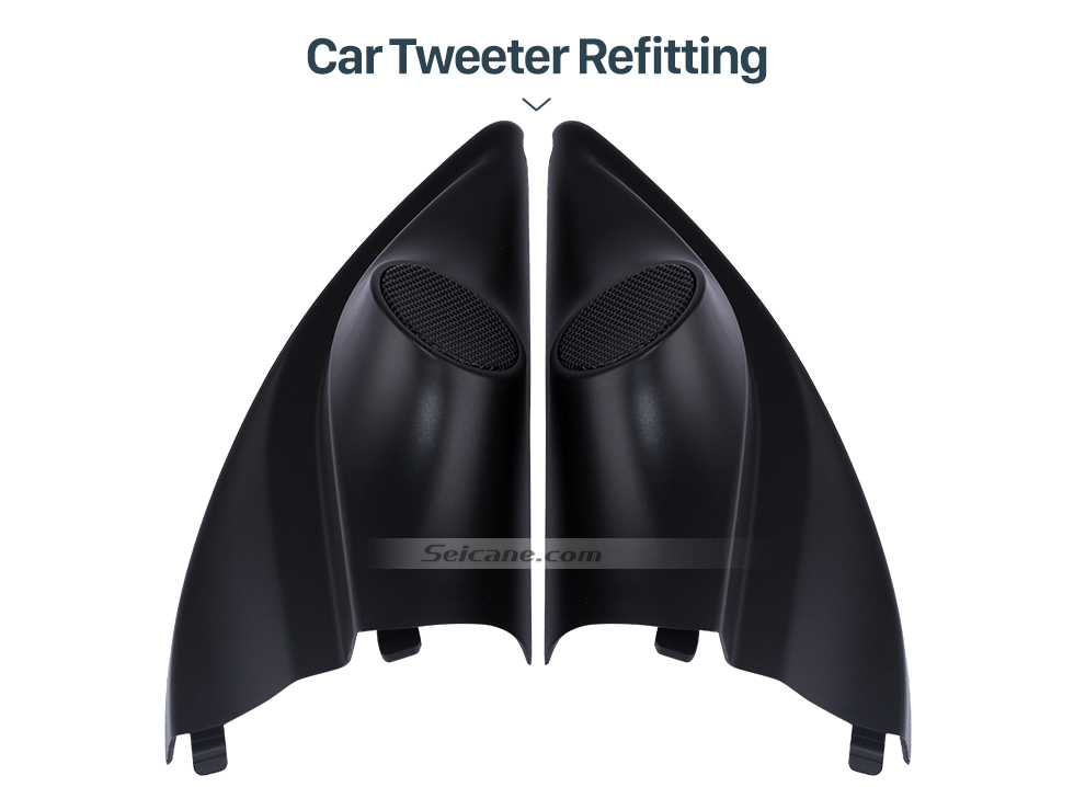 Seicane High Quality Audio Door Angle Gums Tweeter Refitting Boxes for Mitsubishi Mirage Car Horn Refit Stereo Installation 2pcs