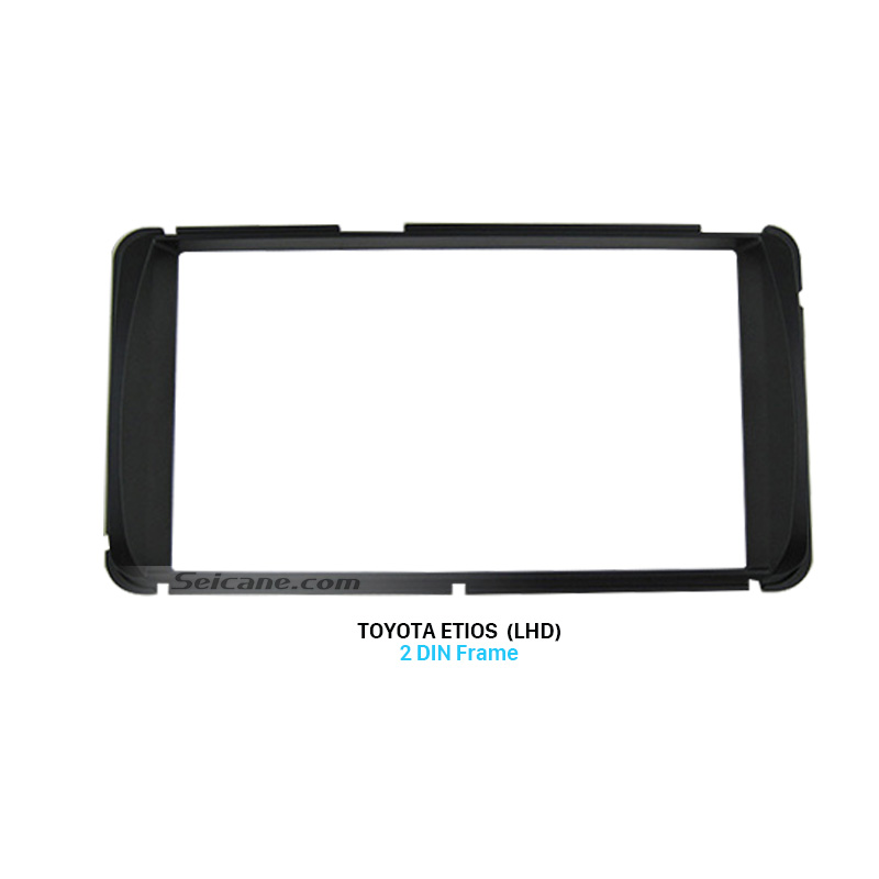 Seicane 173*98mm Double Din Toyota Etios LHD Car Radio Fascia Audio Player Stereo Install Panel Plate