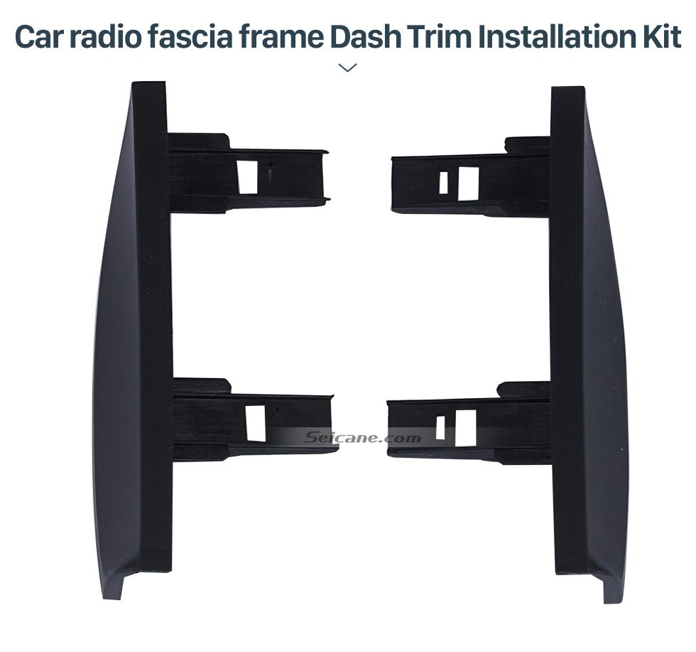 Seicane Optimale Doppel-DIN 2002 2003 2004 Toyota Prius RHD Autoradio Armaturenbretts Kit CD Trim Installations Face Plate