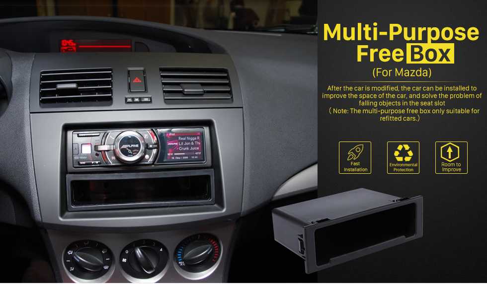 Multi-Purpose Free Box High Quality Multifunctional Storage Container Free Box for Mazda