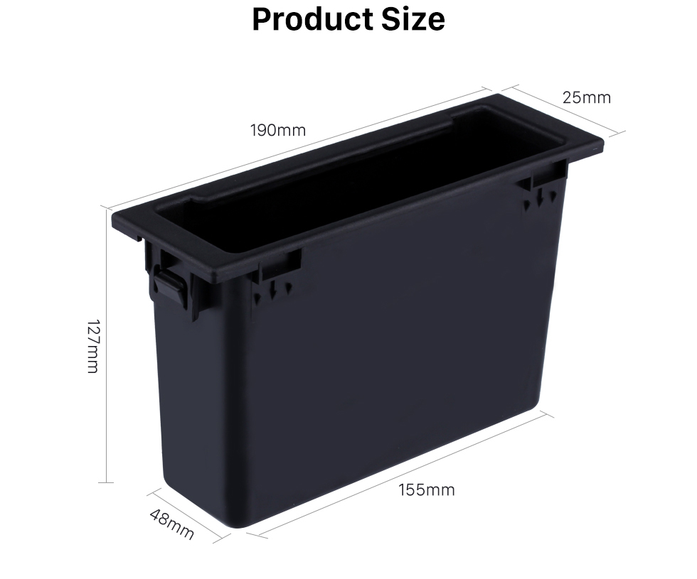 Product Size High Quality Multifunctional Storage Container Free Box for Mazda