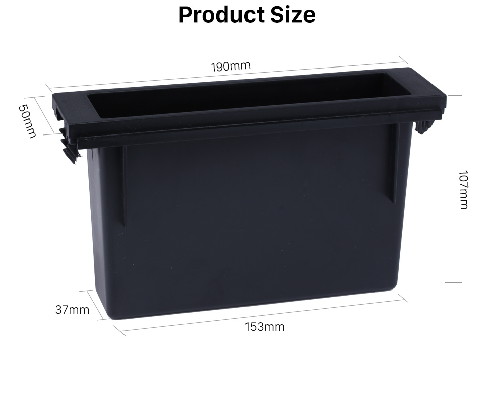 Product Size Hot Outside decorating Multi-purpose Storage Content Shelf Free Box sides with hooks