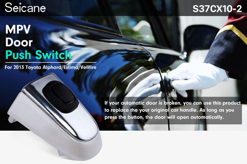 Seicane High Quality MPV DOOR PUSH SWITCH Adapter Controller FOR TOYOTA ESTIMA ALPHARD VWLLFIRE