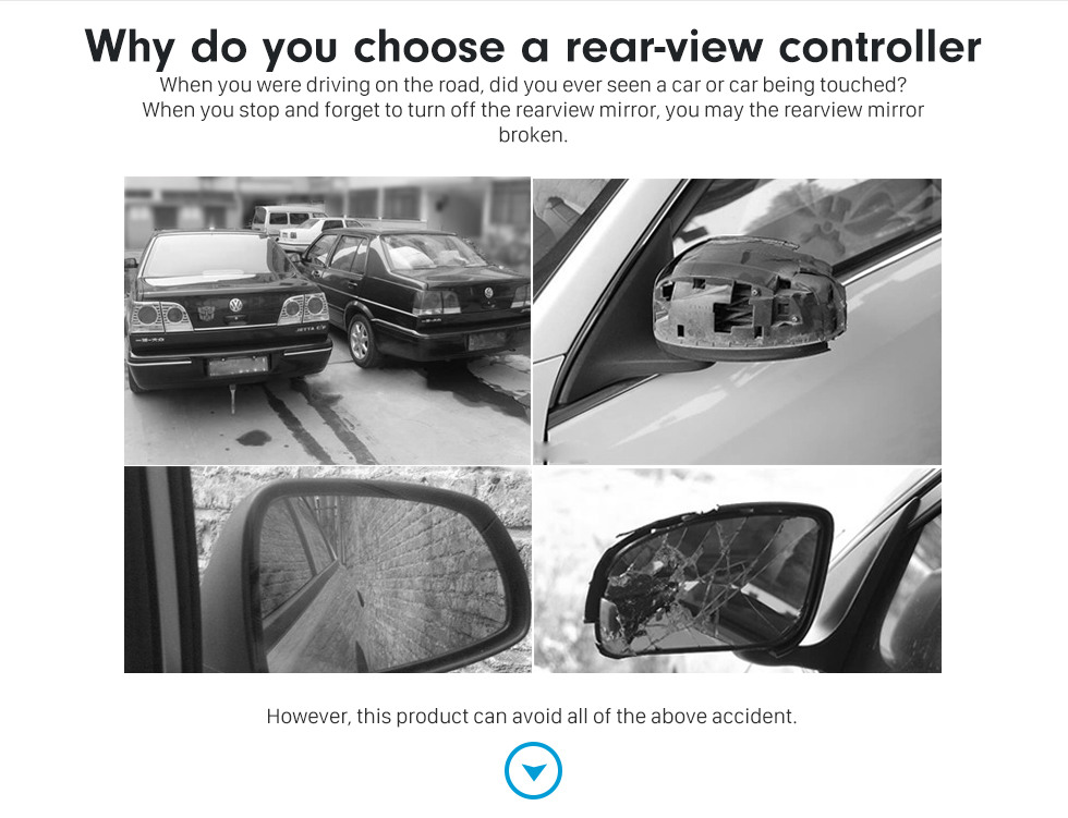 Why do you choose a rear-view controller Car Rearview Mirror Automatic Folding Drive Controller Adapter Wire Connector for Toyota