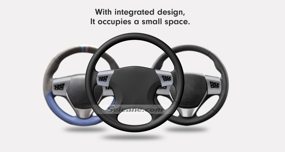 With integrated design It occupies a small space For TOYOTA AGYA Studying Steering Wheel Audio Controller Music Volume Bluetooth Phone Remote Button
