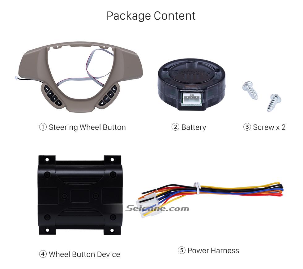 Package Content Studying Steering Wheel Audio Controller Volume Music Bluetooth Phone Remote Button for SUZUKI ERTIGA
