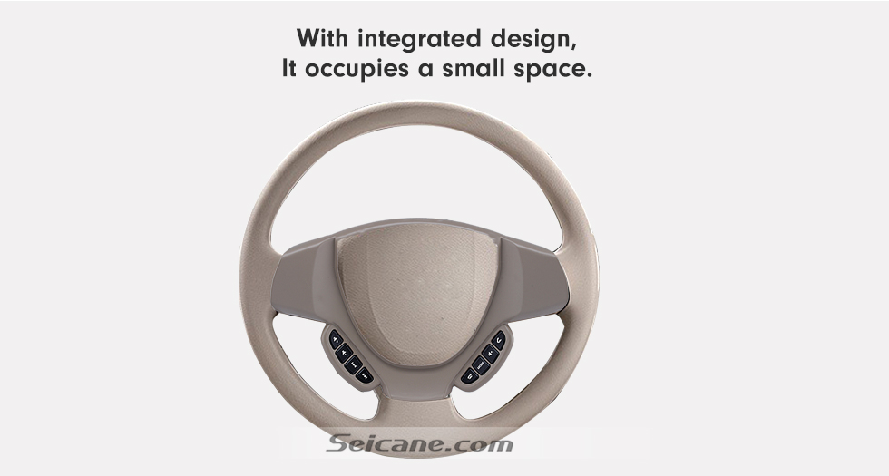 With integrated designm It occupies a small space Studying Steering Wheel Audio Controller Volume Music Bluetooth Phone Remote Button for SUZUKI ERTIGA