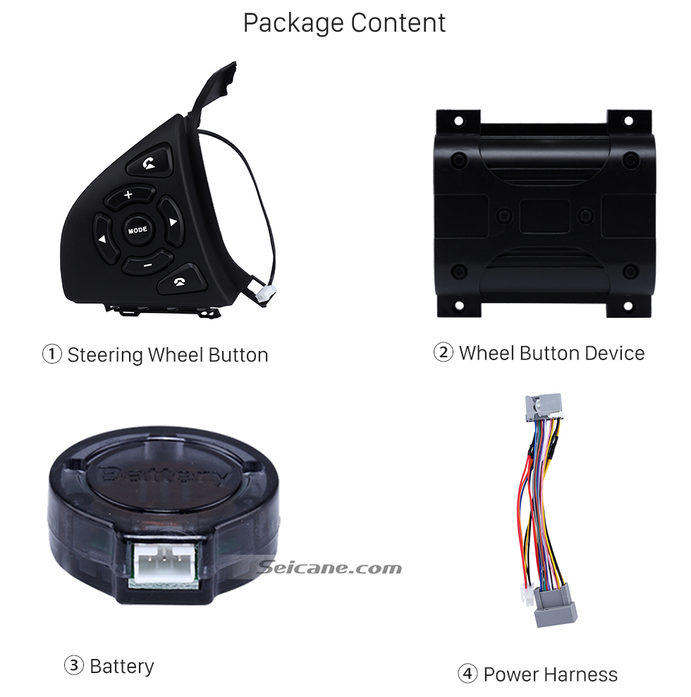 Package Content High Quality Studying Steering Wheel Audio Controller Regulator Volume Music Player Bluetooth Phone Remote Button for HONDA HRV CITY