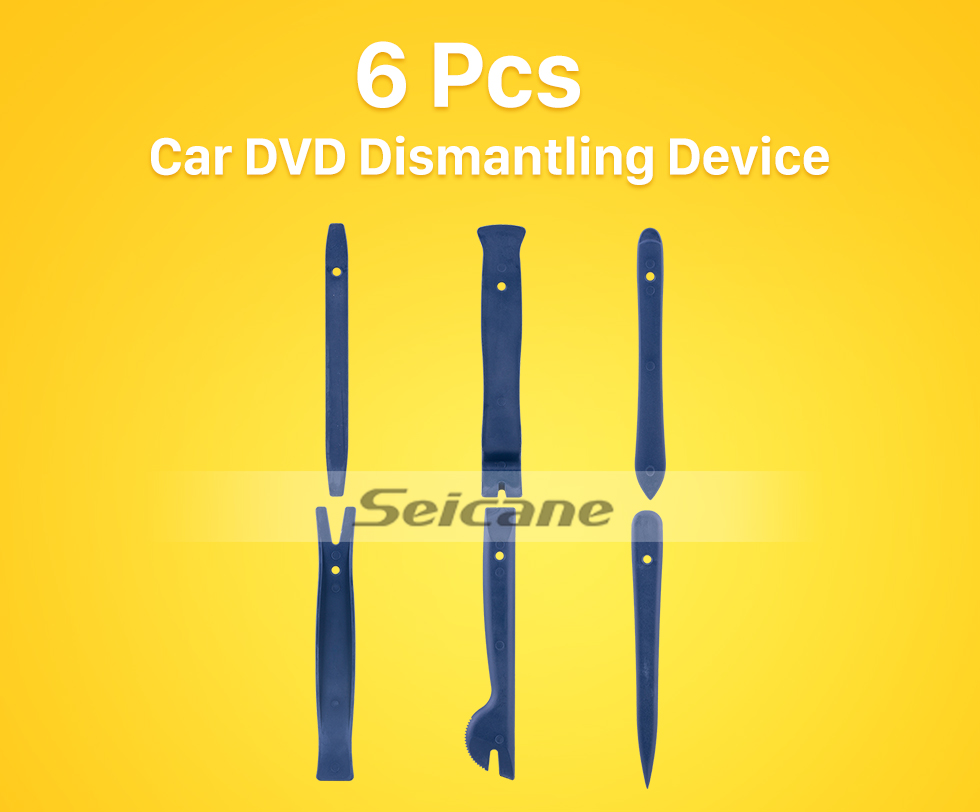 Seicane 6pcs Car Radio DVD Removal and Installing Device Audio Disassembly Tools
