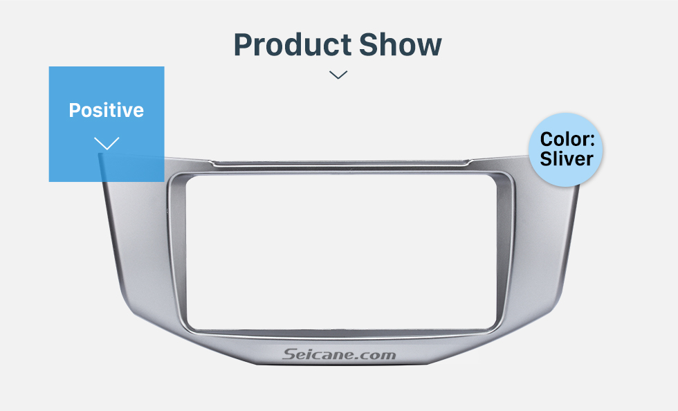 Product Show Great Quality 2Din 2008 Lexus RX330 RX350 Toyota Harrier Car Radio Fascia DVD Frame Auto Stereo Panel Adaptor