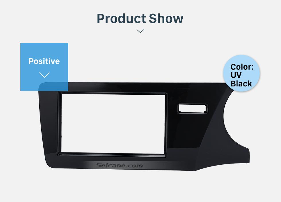 Seicane Best Quality Double Din 2014 Honda City RHD Car Radio Fascia Dash Kit Auto stereo Adapter Install Frame Dashboard Panel
