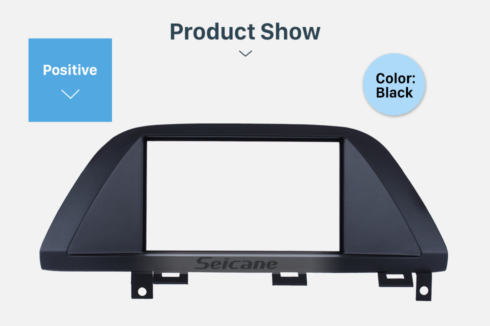 Seicane Durable 2Din 2006 Honda Odyssey Car Radio Fascia DVD panel In Dash Mount Kit Fitting frame Auto Stereo CD