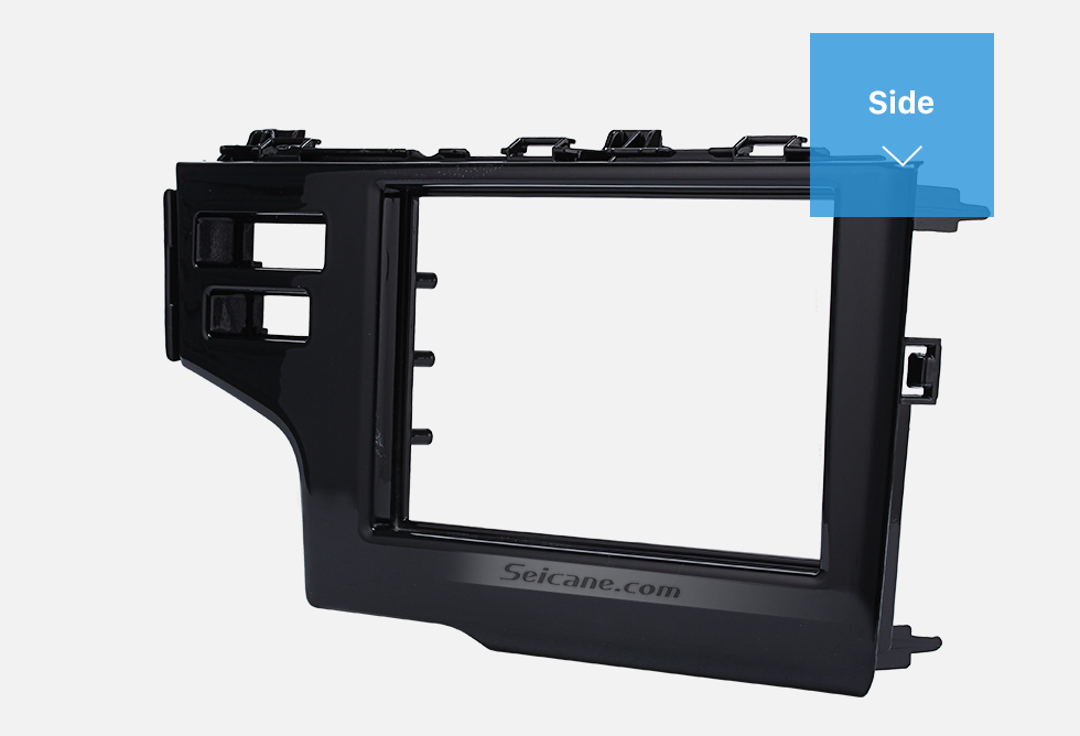 Seicane Nice 2Din 2013 2014 2015 Honda Fit Jazz LHD with SRS Hole Car Radio Fascia Panel Frame Dash Mount Stereo Install