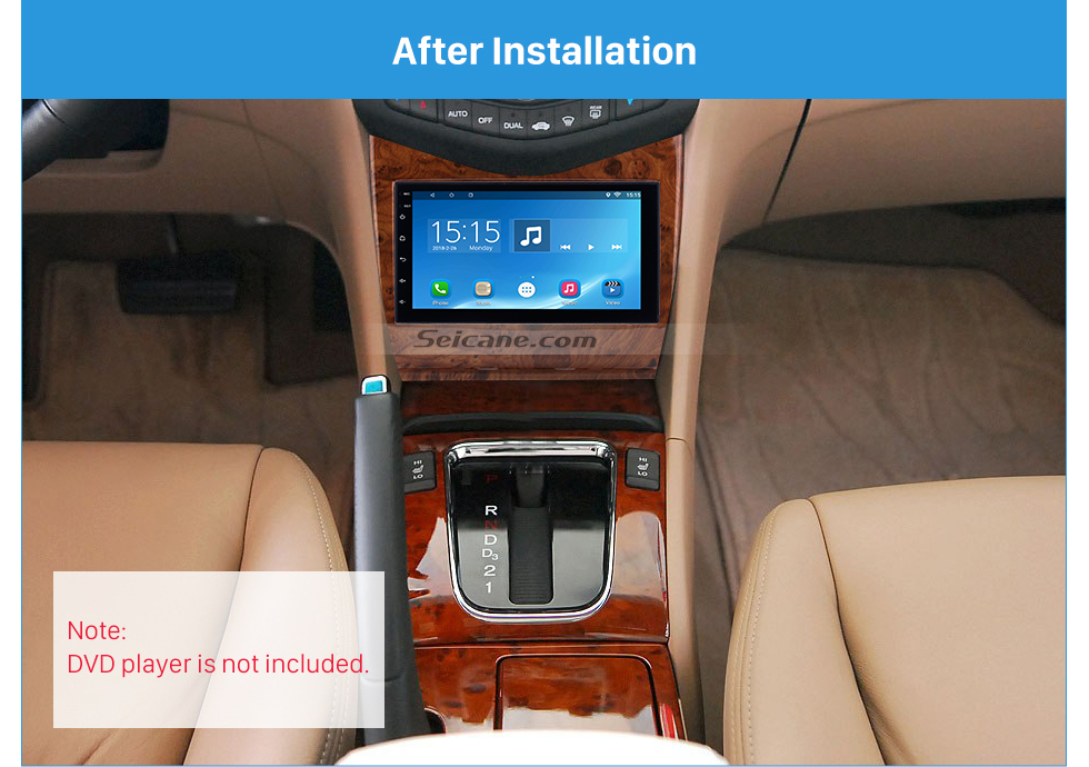 Seicane High Quality Wooden Color 2Din 2007 Honda Accord Car Radio Fascia DVD panel Dash Kit Trim Bezel Fitting Frame