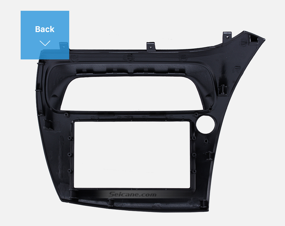 Seicane Professional 2Din 2005 Honda Civic European LHD Car Radio Fascia Trim Install Frame Dash Kit Auto Stereo CD