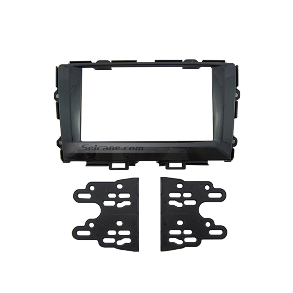 Seicane Classic Double Din 2013 Honda Crider Car Radio Fascia Dash Installation Kit DVD Stereo Player CD Frame Panel